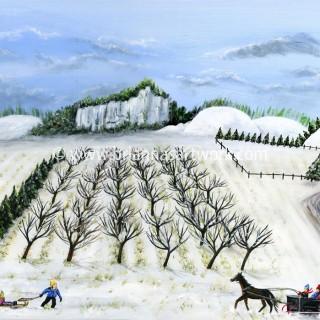 """Hilly Horse-Drawn Sleigh"" 2012"