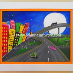 Hilly-Meets-the-Highway-Framed-Camera-small