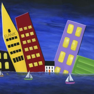"""""""Hilly Harbourfront"""" 2015"""